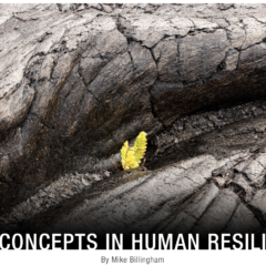 New Concepts In Human Resilience