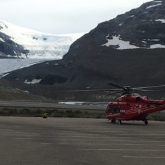 Crews treat a range of critically injured patients at Icefield rollover